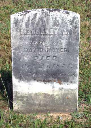 FLICKINGER MOYER, MARGARET ANN - Juniata County, Pennsylvania | MARGARET ANN FLICKINGER MOYER - Pennsylvania Gravestone Photos