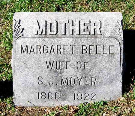MOYER, MARGARET BELLE - Juniata County, Pennsylvania | MARGARET BELLE MOYER - Pennsylvania Gravestone Photos