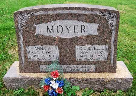 MOYER, ANNA E. - Juniata County, Pennsylvania | ANNA E. MOYER - Pennsylvania Gravestone Photos
