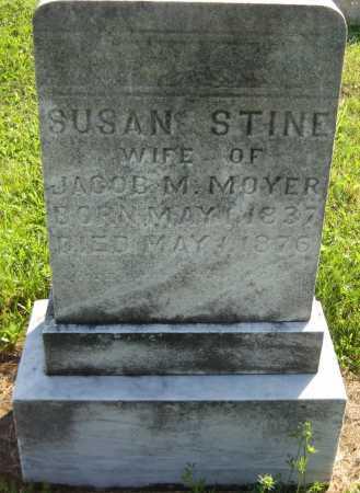 MOYER, SUSAN - Juniata County, Pennsylvania | SUSAN MOYER - Pennsylvania Gravestone Photos