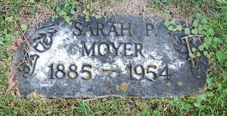 MOYER, SARAH - Juniata County, Pennsylvania   SARAH MOYER - Pennsylvania Gravestone Photos