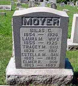 MOYER, LAURA M. - Juniata County, Pennsylvania | LAURA M. MOYER - Pennsylvania Gravestone Photos