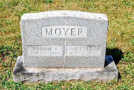 MOYER, ALICE C. - Juniata County, Pennsylvania | ALICE C. MOYER - Pennsylvania Gravestone Photos