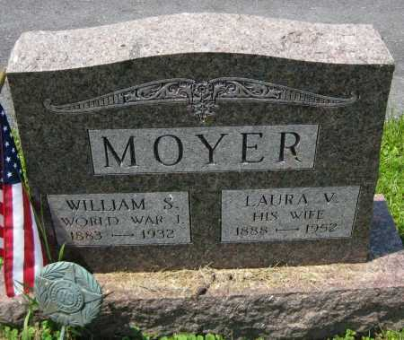 MOYER, WILLIAM S. - Juniata County, Pennsylvania   WILLIAM S. MOYER - Pennsylvania Gravestone Photos