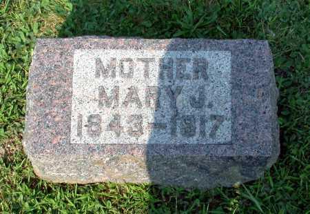 MUSSER, MARY J. - Juniata County, Pennsylvania | MARY J. MUSSER - Pennsylvania Gravestone Photos