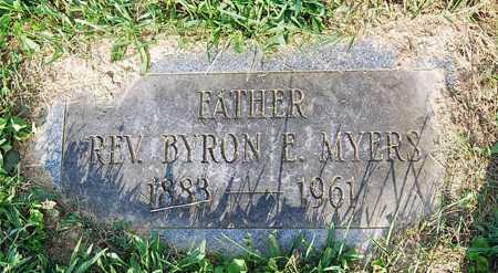 MYERS, BYRON E. - Juniata County, Pennsylvania | BYRON E. MYERS - Pennsylvania Gravestone Photos