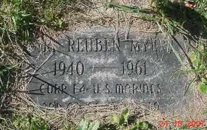 MYERS, EARL REUBEN - Juniata County, Pennsylvania   EARL REUBEN MYERS - Pennsylvania Gravestone Photos