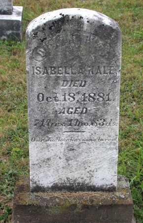 NALE, ISABELLA - Juniata County, Pennsylvania | ISABELLA NALE - Pennsylvania Gravestone Photos