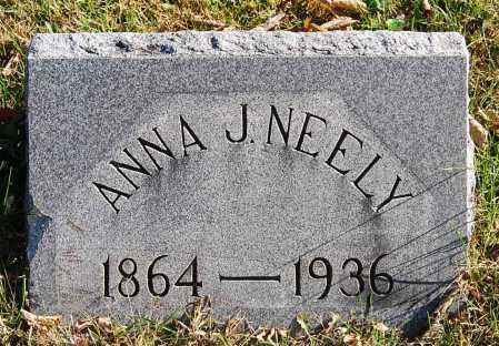 BRACKBILL NEELY, ANNA J. - Juniata County, Pennsylvania   ANNA J. BRACKBILL NEELY - Pennsylvania Gravestone Photos
