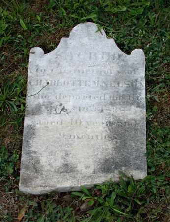 NELSON, CHARLOTTE M. - Juniata County, Pennsylvania | CHARLOTTE M. NELSON - Pennsylvania Gravestone Photos