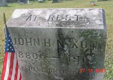 NIXON, JOHN H. - Juniata County, Pennsylvania | JOHN H. NIXON - Pennsylvania Gravestone Photos