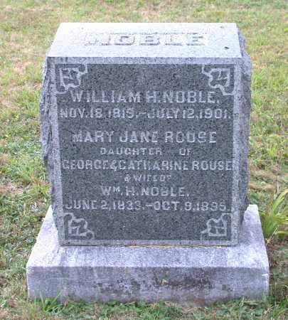 NOBLE, MARY JANE - Juniata County, Pennsylvania | MARY JANE NOBLE - Pennsylvania Gravestone Photos