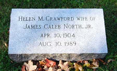 CRAWFORD NORTH, HELEN M. - Juniata County, Pennsylvania   HELEN M. CRAWFORD NORTH - Pennsylvania Gravestone Photos