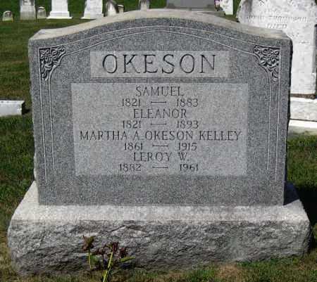 ARBUCKLE OKESON, ELEANOR - Juniata County, Pennsylvania | ELEANOR ARBUCKLE OKESON - Pennsylvania Gravestone Photos