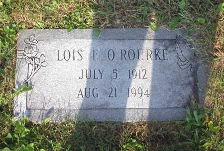 O'ROURKE, LOIS E. - Juniata County, Pennsylvania   LOIS E. O'ROURKE - Pennsylvania Gravestone Photos