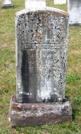 ORRIS, HENRY - Juniata County, Pennsylvania | HENRY ORRIS - Pennsylvania Gravestone Photos