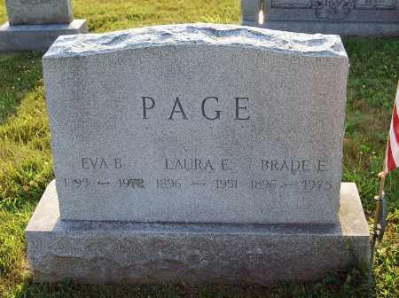 PAGE, EVA BELL - Juniata County, Pennsylvania | EVA BELL PAGE - Pennsylvania Gravestone Photos