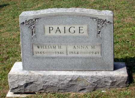 PAIGE, WILLIAM H. - Juniata County, Pennsylvania | WILLIAM H. PAIGE - Pennsylvania Gravestone Photos