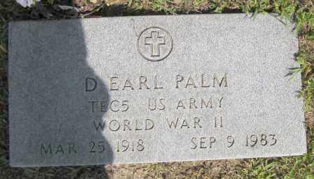 PALM, D. EARL - Juniata County, Pennsylvania | D. EARL PALM - Pennsylvania Gravestone Photos