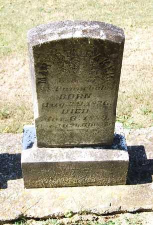 BRUBAKER PANNEBAKER, MARY W. - Juniata County, Pennsylvania | MARY W. BRUBAKER PANNEBAKER - Pennsylvania Gravestone Photos