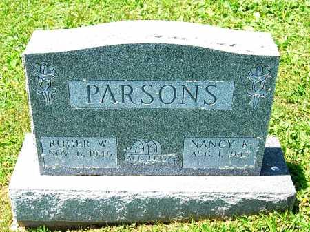PARSONS, NANCY K. - Juniata County, Pennsylvania | NANCY K. PARSONS - Pennsylvania Gravestone Photos