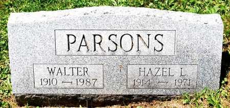PARSONS, WALTER - Juniata County, Pennsylvania | WALTER PARSONS - Pennsylvania Gravestone Photos