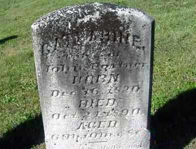 PARTNER, CATHERINE - Juniata County, Pennsylvania | CATHERINE PARTNER - Pennsylvania Gravestone Photos