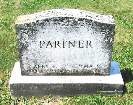 PARTNER, HARRY K. - Juniata County, Pennsylvania | HARRY K. PARTNER - Pennsylvania Gravestone Photos