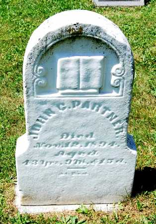 PARTNER, JOHN C. - Juniata County, Pennsylvania | JOHN C. PARTNER - Pennsylvania Gravestone Photos
