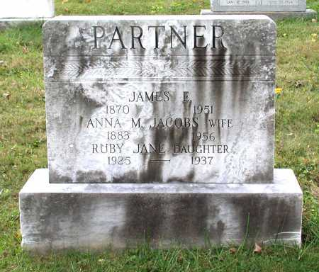 PARTNER, JAMES E. - Juniata County, Pennsylvania | JAMES E. PARTNER - Pennsylvania Gravestone Photos
