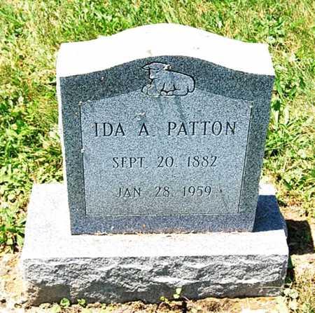 PATTON, IDA A. - Juniata County, Pennsylvania | IDA A. PATTON - Pennsylvania Gravestone Photos