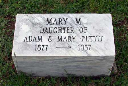PETTIT, MARY M. - Juniata County, Pennsylvania | MARY M. PETTIT - Pennsylvania Gravestone Photos