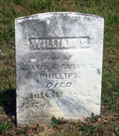 PHILLIPS, WILLIAM S. - Juniata County, Pennsylvania | WILLIAM S. PHILLIPS - Pennsylvania Gravestone Photos