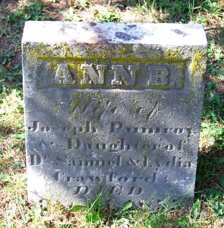 CRAWFORD POMEROY, ANNA BLACK - Juniata County, Pennsylvania | ANNA BLACK CRAWFORD POMEROY - Pennsylvania Gravestone Photos