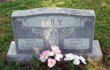 PRY, JOAN E. - Juniata County, Pennsylvania | JOAN E. PRY - Pennsylvania Gravestone Photos