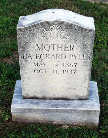 ECKARD PYLES, IDA - Juniata County, Pennsylvania | IDA ECKARD PYLES - Pennsylvania Gravestone Photos