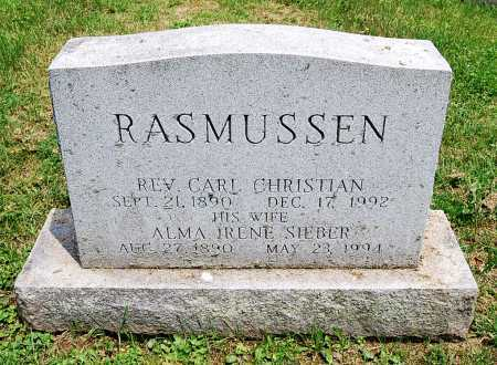 RASMUSSEN, CARL CHRISTIAN - Juniata County, Pennsylvania | CARL CHRISTIAN RASMUSSEN - Pennsylvania Gravestone Photos