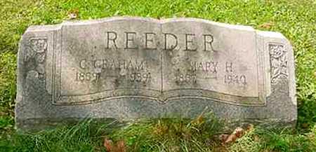 REEDER, CAMBRIDGE GRAHAM - Juniata County, Pennsylvania   CAMBRIDGE GRAHAM REEDER - Pennsylvania Gravestone Photos