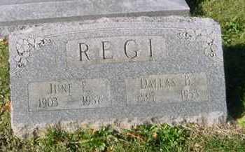 "ALEXANDER REGI, JUNIA ""JUNE"" ESTHER - Juniata County, Pennsylvania | JUNIA ""JUNE"" ESTHER ALEXANDER REGI - Pennsylvania Gravestone Photos"