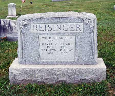 REISINGER, WILLIAM B. - Juniata County, Pennsylvania   WILLIAM B. REISINGER - Pennsylvania Gravestone Photos