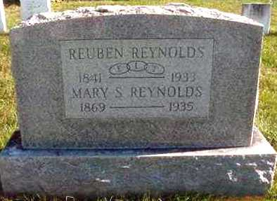 REYNOLDS, REUBEN - Juniata County, Pennsylvania | REUBEN REYNOLDS - Pennsylvania Gravestone Photos