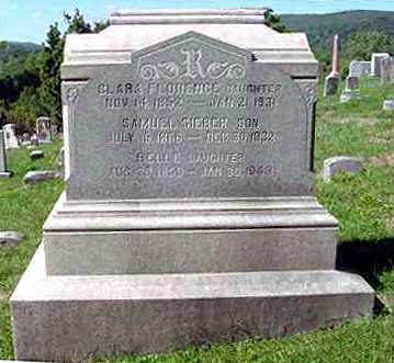 RICE, BELLE - Juniata County, Pennsylvania | BELLE RICE - Pennsylvania Gravestone Photos