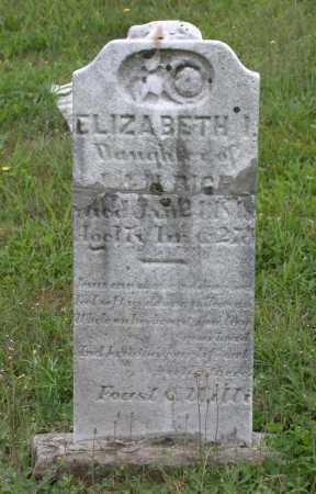 RICE, ELIZABETH I. - Juniata County, Pennsylvania | ELIZABETH I. RICE - Pennsylvania Gravestone Photos