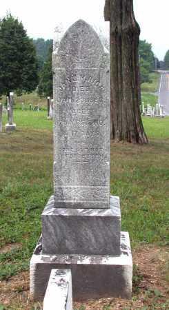 WHARTON RICE, JANE MARY - Juniata County, Pennsylvania   JANE MARY WHARTON RICE - Pennsylvania Gravestone Photos