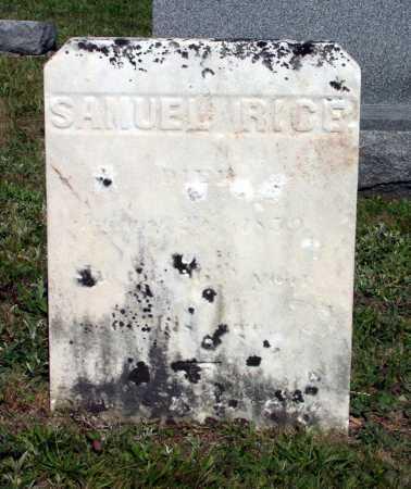 RICE, SAMUEL - Juniata County, Pennsylvania | SAMUEL RICE - Pennsylvania Gravestone Photos
