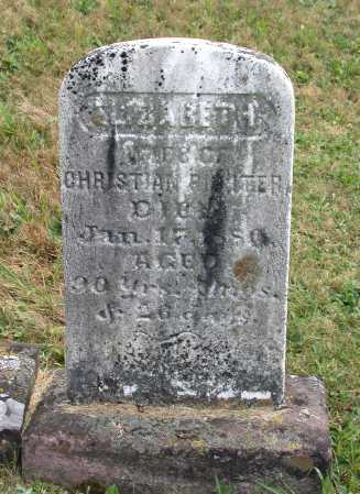 RICHTER, ELIZABETH - Juniata County, Pennsylvania | ELIZABETH RICHTER - Pennsylvania Gravestone Photos