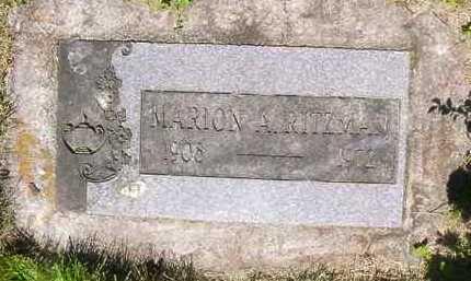 ADAMS RITZMAN, MARIOIN E. - Juniata County, Pennsylvania | MARIOIN E. ADAMS RITZMAN - Pennsylvania Gravestone Photos