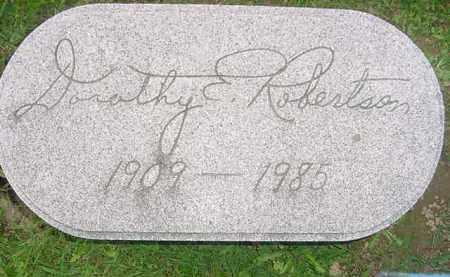 ROBERTSON, DOROTHY E. - Juniata County, Pennsylvania   DOROTHY E. ROBERTSON - Pennsylvania Gravestone Photos