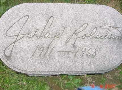 ROBERTSON, J. HAYES - Juniata County, Pennsylvania   J. HAYES ROBERTSON - Pennsylvania Gravestone Photos