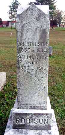 "GUSS ROBISON, SELINA ""LINA"" - Juniata County, Pennsylvania | SELINA ""LINA"" GUSS ROBISON - Pennsylvania Gravestone Photos"